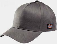 Mens Dickies Logo Baseball Cap In Grey Workwear Casual Wear Beenie Cap Fl05199 - dickies - ebay.co.uk