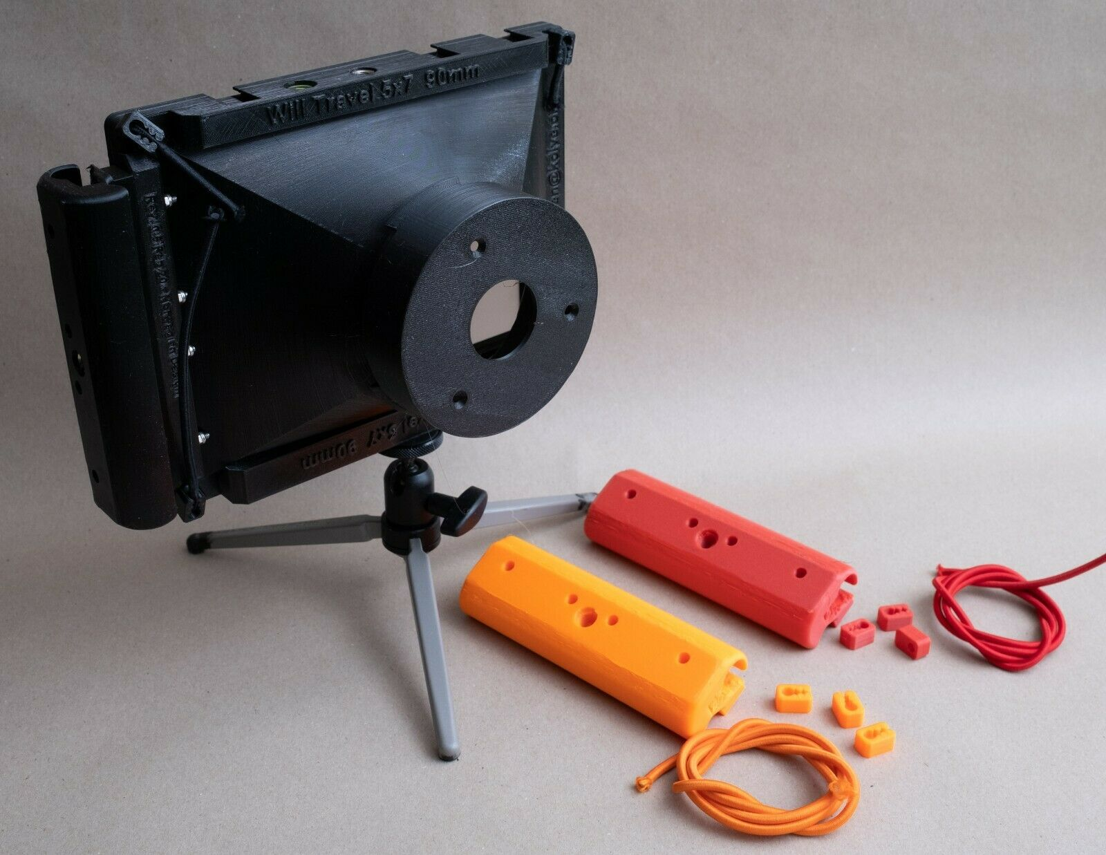как выглядит 3d printed - WillTravel 5x7 camera for your focal length фото
