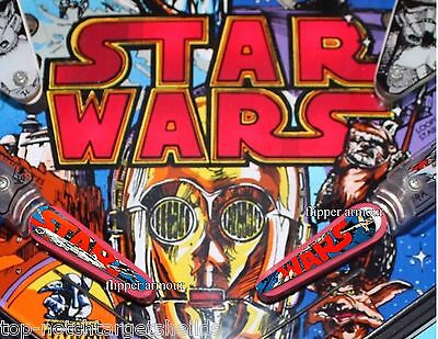 STAR WARS DATA EAST Pinball Flipper Cushioned Armour