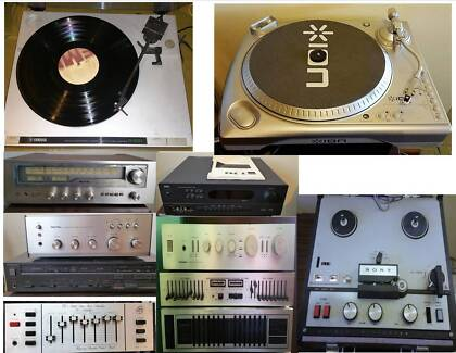 Rotel,Bose,NAD,Marantz Speakers,Amps, Turntable