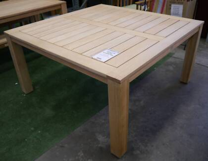 New Square Chunky 1500 Table Outdoor Furniture