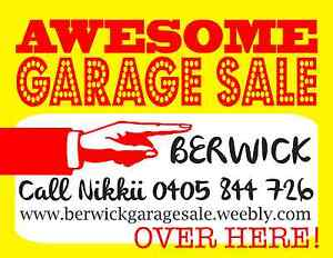 Garage Sale - Berwick VIC Berwick Casey Area Preview
