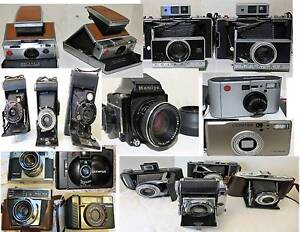 Rangefinders , TLR ,Point & Shoot, Polaroid Cameras South Yarra Stonnington Area Preview
