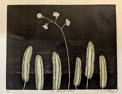 J.J.J. Rigal : Mid Century Modern Aquatint Etching Signed Numbered - Large