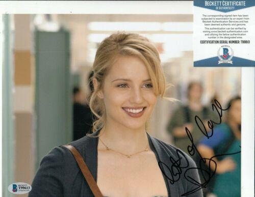 DIANNA AGRON signed (GLEE) Quinn Fabray 8X10 photo BECKETT BAS T99613
