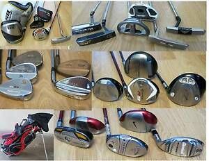 R.H & L.H PING ,Calllaway Irons, Putters Golf  Clubs.,. South Yarra Stonnington Area Preview