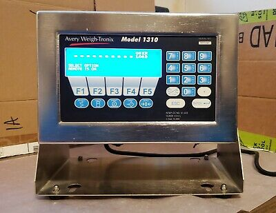 Avery Weigh-tronix Model 1310 Stainless Digital Readout With Mount