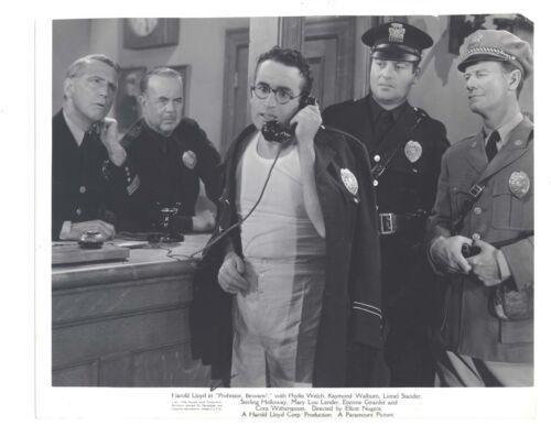Harold Lloyd 1938 Professor, Beware! 7.75x9.5 Original
