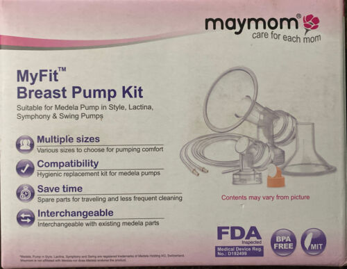 Maymom MyFit Medela Breast Pump Spare Parts Kit New in Box