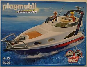 **NEU** PLAYMOBIL® SUMMER FUN 5205 Luxusyacht Boot Schiff **OVP**