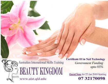 Nail Course FUNDED by Government