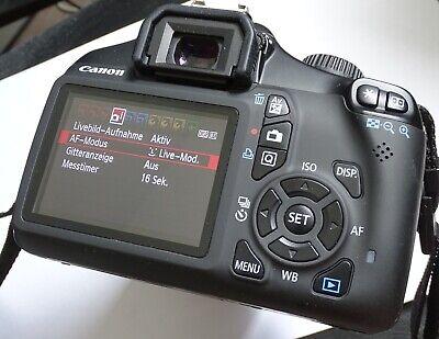 Canon EOS 1100D  SLR-Digitalkamera, Canon Zoom Lens EF-S 18-55mm III Zoom Canon Eos Digital Slr