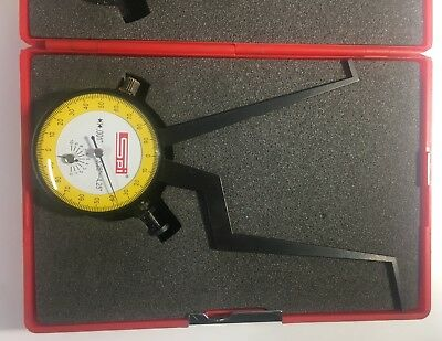Swiss Precision Instrument 12-408-1 Internal Dial Caliper Gage 3.25-4.25 .001