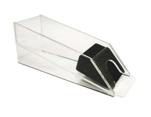 ACRYLIC CARD SHOE – HOLDS 6 DECKS