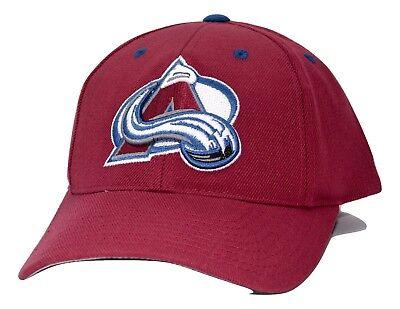 Colorado Avalanche PUMA Team Apparel NHL Team Logo Adjustable Hockey Cap Hat