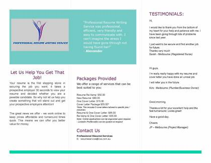 Professional resume writing services melbourne