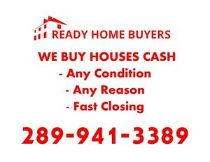 We Buy Houses Cash | Any Condition | Any Reason | Fast Closing