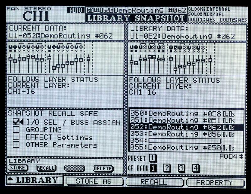 Tascam DM-3200 / DM-4800 Custom Graphic LED Display !