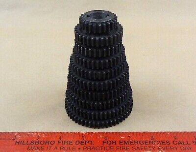 Rare Nos Complete Set 10 Atlas Craftsman 10 12 Lathe Threading Change Gears