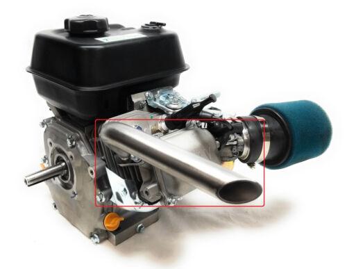 Exhaust Pipe for Predator 212cc, Honda GX160, GX200. Go Kart & mini bikes