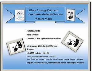Charity Night for Animal rescue fundraising Strathpine Pine Rivers Area Preview