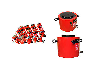 Hydraulic Cylinder 300 Ton Capacity Lift Jack Stroke 4 Inch
