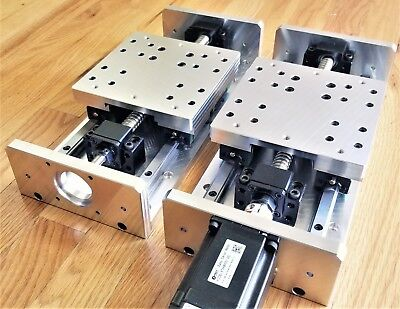 Diy Cnc X Y Z Axis Linear Stage Slide Kit 6.5 Travel For Mill Router Us Made