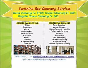 GUARANTEED BOND/ CARPET/ WINDOW/ HOUSE CLEAN ALL SUNSHINE COAST Flaxton Maroochydore Area Preview