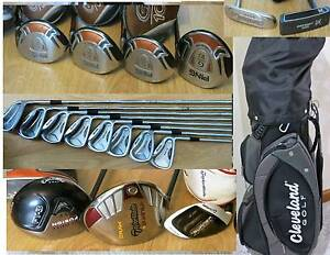 Mens ,Ladies -R & L.H  PING ,Calllaway  Irons, Putters & Clubs.,. South Yarra Stonnington Area Preview
