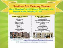 Bond Clean Fr.$149|Carpet Clean Fr.$20/All Sunshine Coast Areas Mountain Creek Maroochydore Area Preview