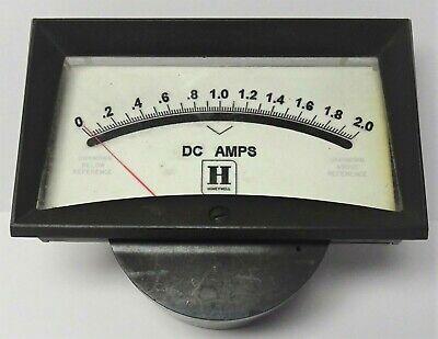 Vintage Honeywell Dc Direct Current 0-2.0 Shielded Panel Meter Model 561