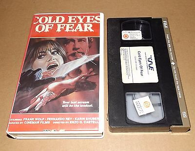 Cold Eyes Of Fear Vhs Video Trans World Entertainment