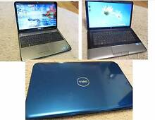 Price reduced !! 3 x Laptops ,15.6in Core I3,and 10.1in Atom South Yarra Stonnington Area Preview