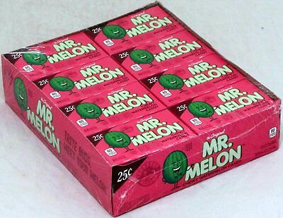 Mr Melon Watermelon Candy Chewy 24 Count Box Bulk Candies Packs Ferrara Pan  - Chewy Candy
