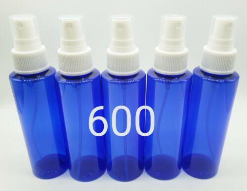 Wholesale Lot of 600 4oz Cobalt Blue Plastic Fine Mist Spray Bottles 4 oz Bottle Bath & Body
