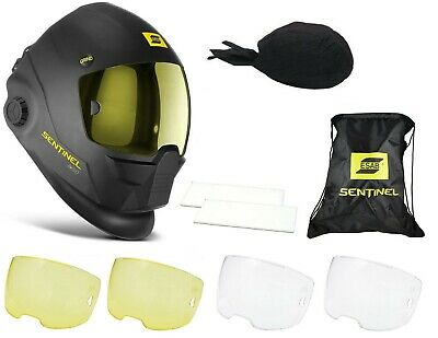Esab Sentinel A50 Welding Helmet Outer Inner Cover Lenses Set Please Choose