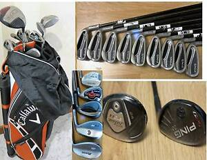 Men's & Ledies PING, TAYLORMADE Irons and Clubs South Yarra Stonnington Area Preview