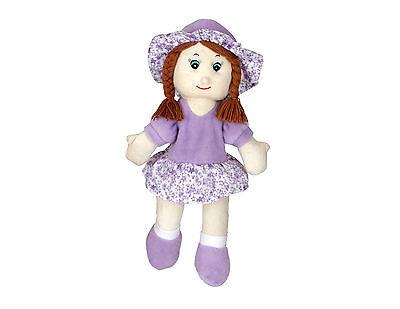 Habibi Plush Puppe Lilac kuschelig Wärmetier mit Wärmflaschenfunktion