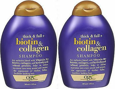 Ogx Shampoo Biotin & Collagen 13 Ounce