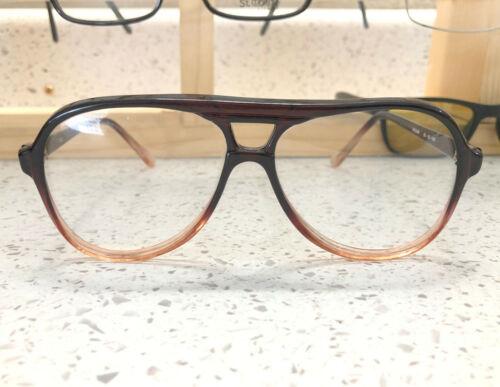 Vintage 70s Double Bridged Sunglasses or Demo Lenses SIZE : 54-18-140