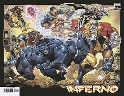Inferno #1 Capullo Hidden Gem 1:50 Ratio Variant Cover 09/29