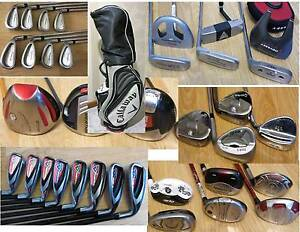Ping, Taylormade ,Calllaway  Irons, Putters Golf Clubs. R.H & L.H South Yarra Stonnington Area Preview