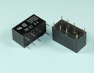 4 Pieces Omron Relay 48vdc 1amp Dpdt General Purpose G5v2