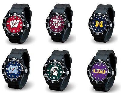 NCAA Team Men's Black Sparo Spirit Watch  * Pick Your Team -