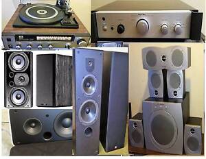 ROTEL,Polk Audi Wharfeda, Speakers, Bose  ,Amplifiers, Sub South Yarra Stonnington Area Preview