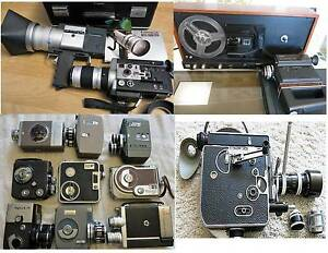 Vintage movie 8 and 16mm cameras and ProJectors South Yarra Stonnington Area Preview