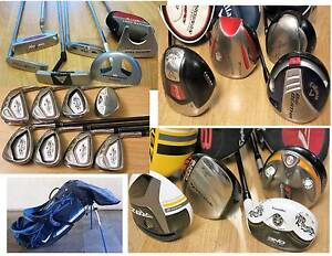 R.H & L.H Taylormade ,Calllaway  Irons, Putters Golf  Clubs.,Bags South Yarra Stonnington Area Preview
