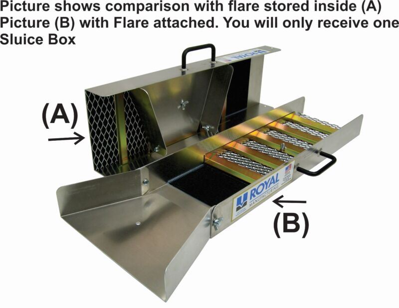 """Royal, 30"""" Compact Sluice Box by Royal Manufacturing"""