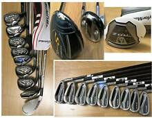 R.H & L.H. PING, TAYLORMADE  Irons and Clubs South Yarra Stonnington Area Preview