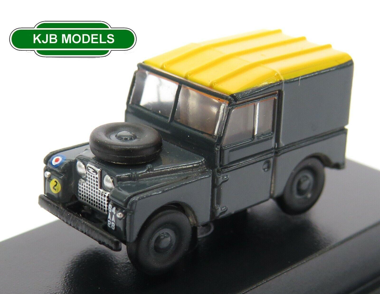 "BNIB N GAUGE OXFORD 1:148 NLAN188021 Land Rover Series I 88"" Hard Top RAF"